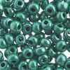 Czech Seedbeads 32/0 Opaque Green/sfinx